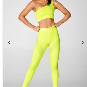 Fabletics Rhythm 2 Piece Outfit in Neon